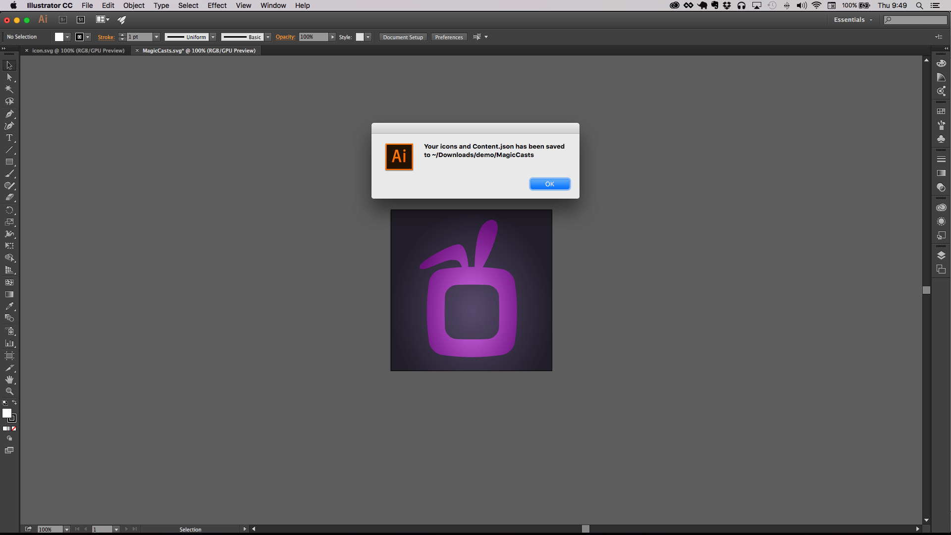 Generate iOS Application Icons from Adobe Illustrator | Grok Interactive