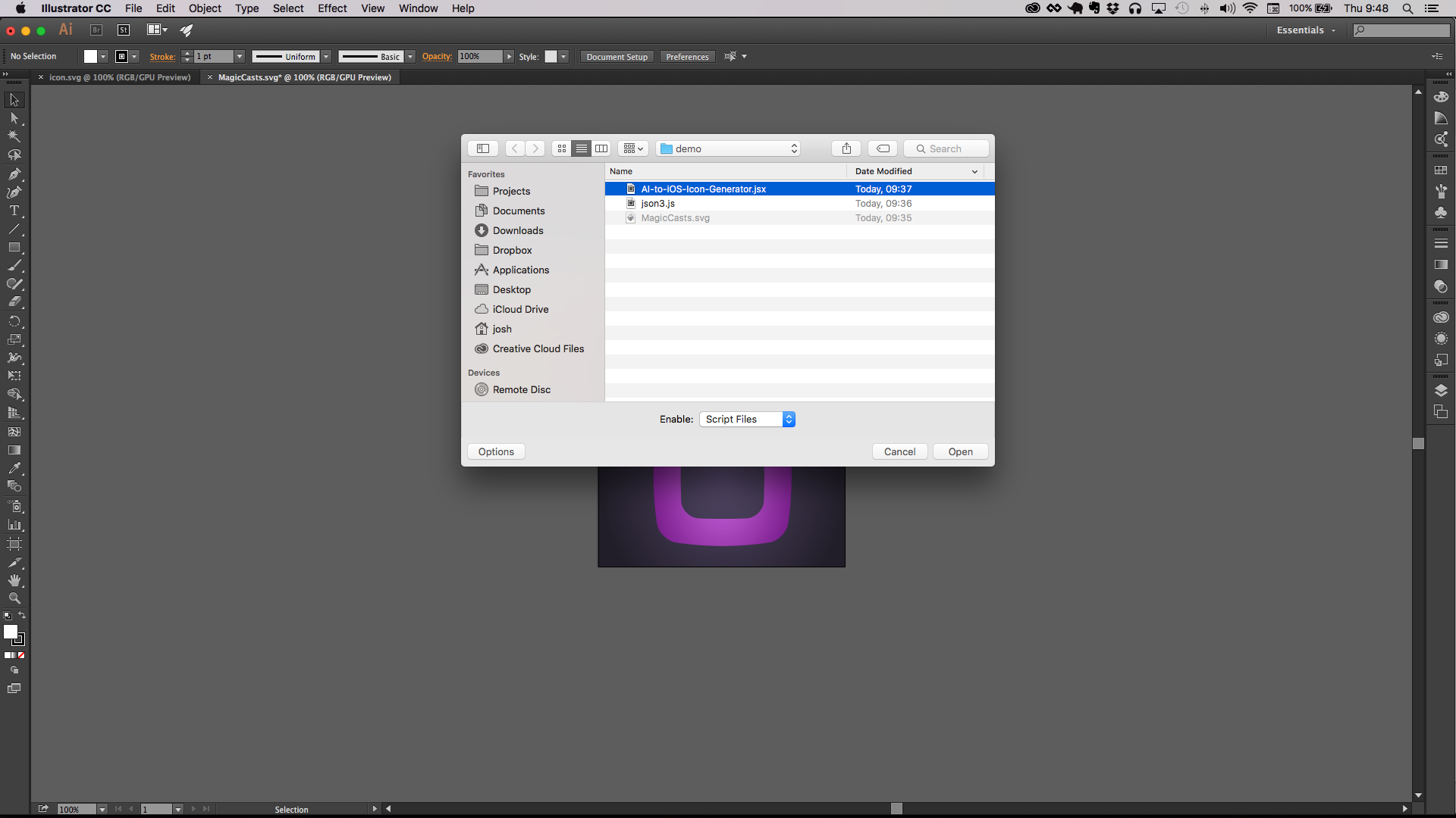 Generate iOS Application Icons from Adobe Illustrator | Grok