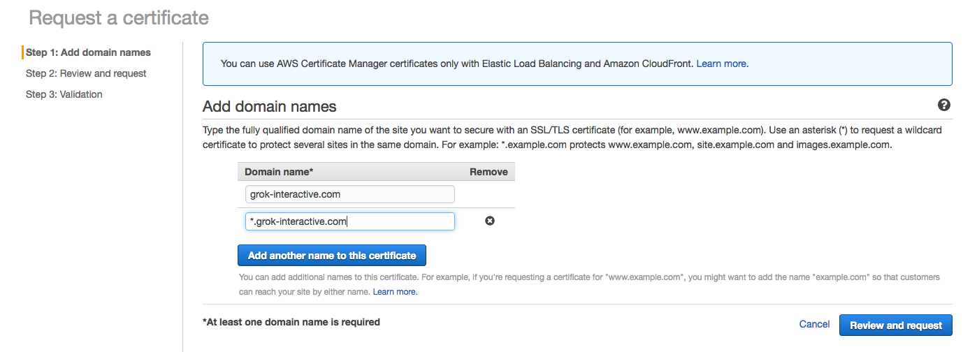 A Simple Guide To Setting Up Ssl Using Amazon Certificate Manager