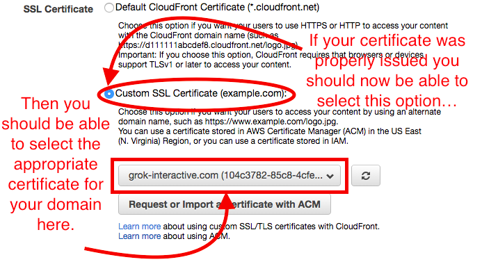 A simple guide to setting up SSL using Amazon Certificate Manager ...